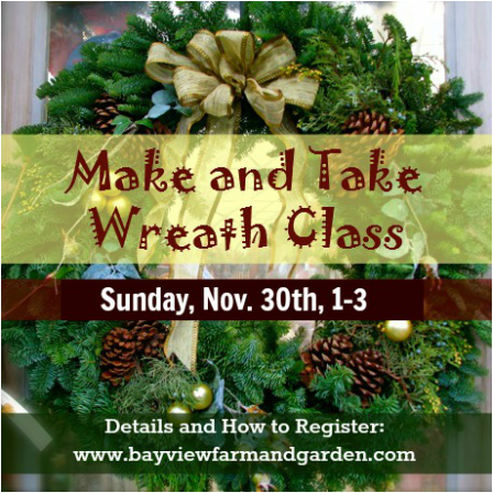 Make and Take Wreath Class